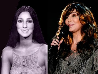 cher young old Top 10 Ageless Celebrity Beauties Over 55