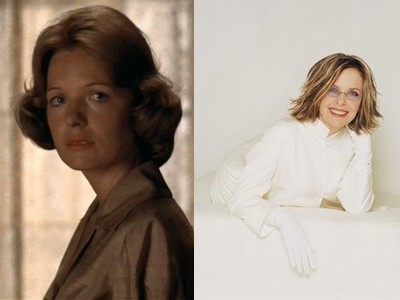 diane keaton young old Top 10 Ageless Celebrity Beauties Over 55