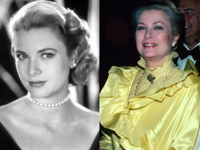 1. Grace Kelly Aging Gracefully