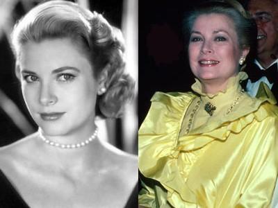 1. Grace Kelly Aging Gracefully