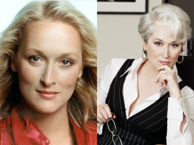 meryl streep young old Top 10 Ageless Celebrity Beauties Over 55