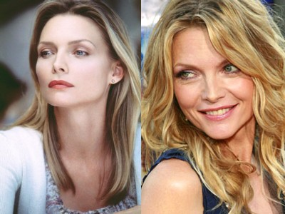 michelle pfeiffer young old Top 10 Ageless Celebrity Beauties Over 55
