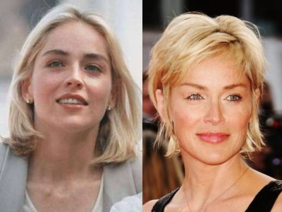10. Sharon Stone - She Still Has her Basic Instincts to Look Young
