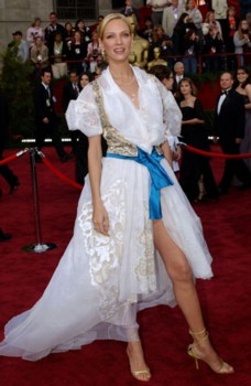 uma thurman Top 10 Most Beautiful Celebrity Legs