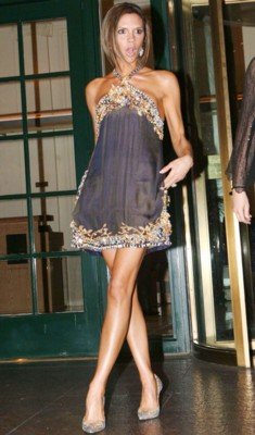 victoria beckham Top 10 Most Beautiful Celebrity Legs