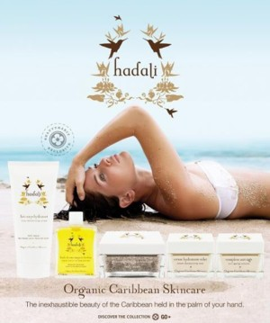 Introducing Hadali Organic Caribbean Skin Care from France