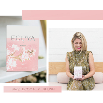 Ecoya Tuberose and Fig Madison Candle