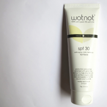 Wotnot SPF30 Facial Sunscreen and Primer