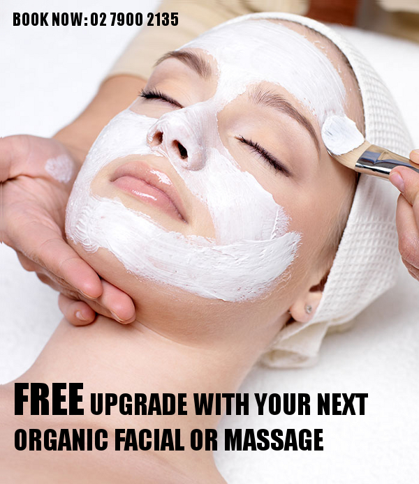 50% off spa facials