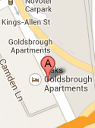 goldbrough hotel Location