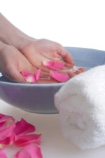 Delicate hands and feet require natural organic skin care to keep it smooth and moisturized