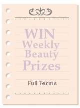 sign up registration beauty prizes