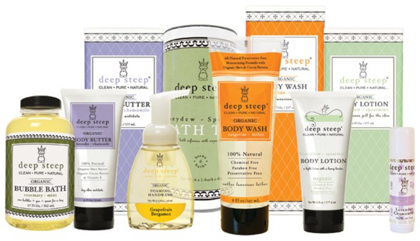 Deep Steep Organic Body products