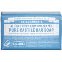 Dr Bronner Soap Bars - Unscented Baby Mild
