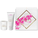 Ecoya Mini Candle Hand Cream Gift Set - Oriental Lily