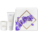 Ecoya Mini Candle Hand Cream Gift Set - Midnight Orchid