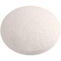 Konjac Sponge Baby Slim Round Puff - White Pure Moist