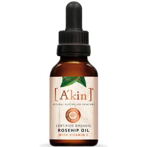 Akin Certified Organic Pure Radiance Rosehip Oil