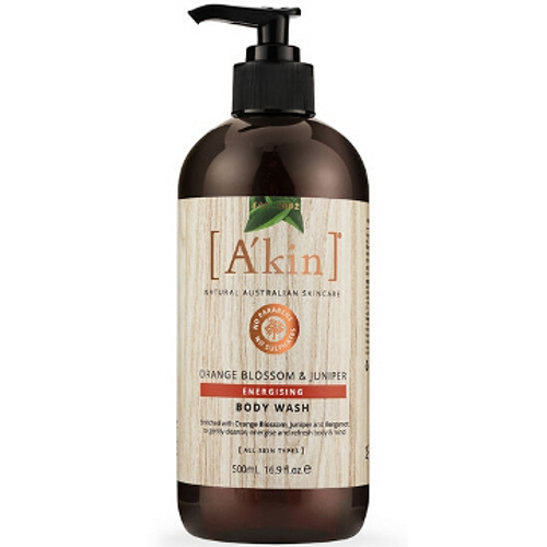 Akin Aromatherapy Orange Blossom Body Wash
