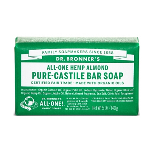 Dr Bronner Soap Bars - Almond
