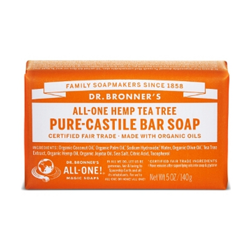 Dr Bronner Soap Bars - Tea Tree