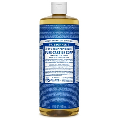 Dr Bronner Hemp Pure Castile Liquid Soap Large