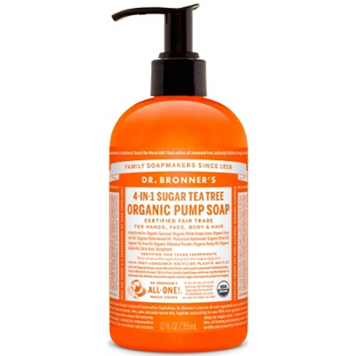 Dr Bronner Organic Pump Hand Soap - Tea Tree