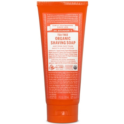 Dr Bronner Shaving Gel -  Tea Tree