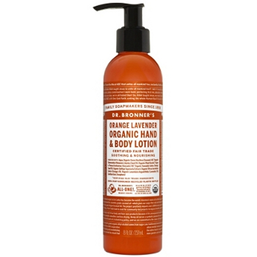 Dr Bronner Hand / Body Lotion - Orange Lavender