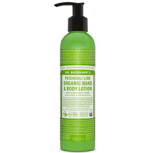 Dr Bronner Hand / Body Lotion - Patchouli Lime