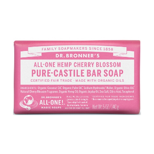 Dr Bronner Soap Bars - Cherry Blossom