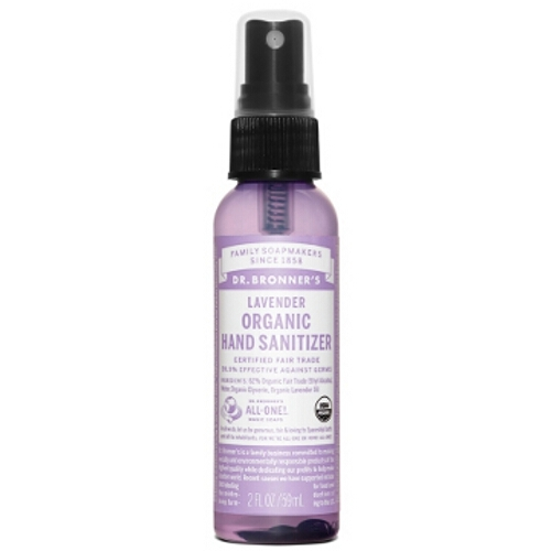 Dr Bronner Hand Sanitizing Spray - Lavender