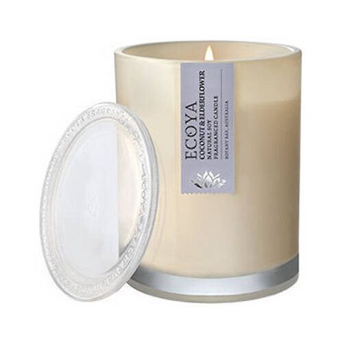 Ecoya Metro Jar Soy Candle - Coconut & Elderflower