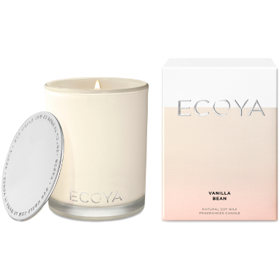 Ecoya Madison Jar Soy Candle - Vanilla Bean