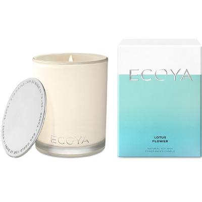 Ecoya Madison Jar Soy Candle - Lotus Flower