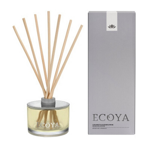 Ecoya Ten Reed Diffuser - Coconut & Elderflower