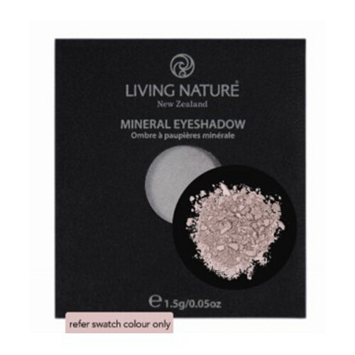Living Nature Cosmetic Mineral Eye Shadow Single - Shell