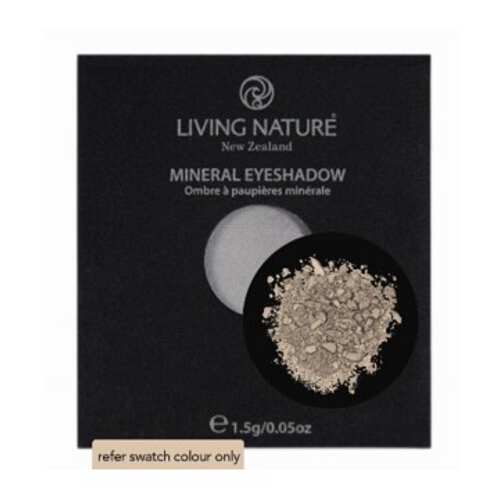 Living Nature Cosmetic Mineral Eye Shadow Single - Sand