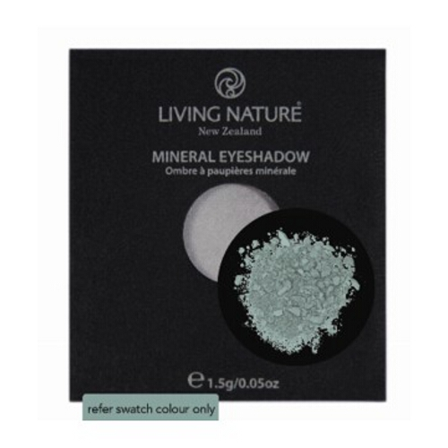 Living Nature Cosmetic Mineral Eye Shadow Single - Greenstone