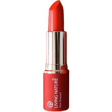 Living Nature Cosmetic Lipstick - Electric Coral