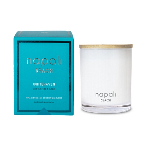 Napali Beach Deluxe - Driftwood & Sage