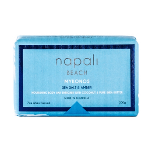 Napali Soap Bar - Sea Salt Amber