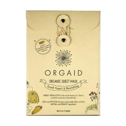 Orgaid Mask Box - Greek Yogurt & Nourishing