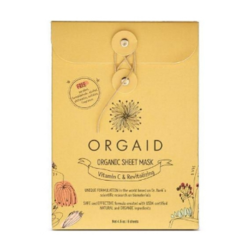 Orgaid Mask Box - Vitamin C & Revitalising