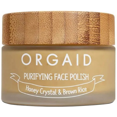 Orgaid Facial Polish with Honey Crystal & Brown Rice