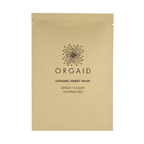 Orgaid Individual Sheet Mask - Greek Yogurt & Nourishing