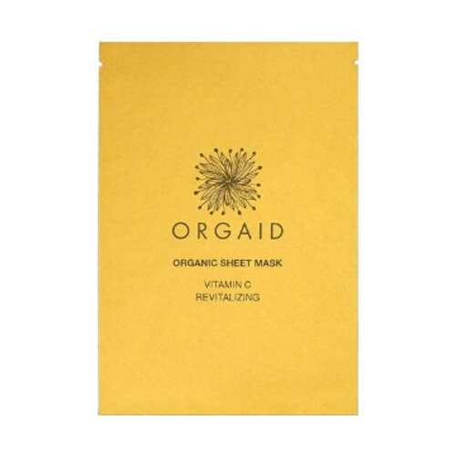 Orgaid Sheet Mask - Vitamin C & Revitalising