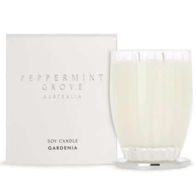 Peppermint Grove Large Soy Candle - Gardenia