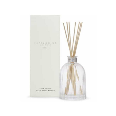 Peppermint Grove Small Diffuser - Lily & Lotus Flower