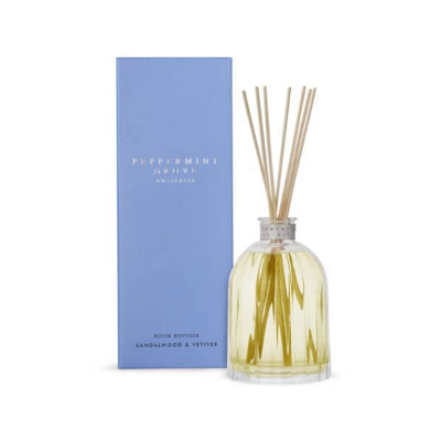 Peppermint Grove Small Diffuser - Sandalwood & Vetiver